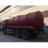 Wholesale Professional 16CBM LHD 336HP Vacuum Suction Sewer Pump Truck / Sludge Truck from china suppliers