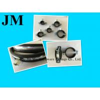 Wholesale Heavy Duty Black Rubber Pipe Clamp , 2 Inch Wall Mount Pipe Clamp / Fasteners from china suppliers