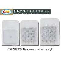 Wholesale Non Woven Lead Curtain Weights 13-14-23G / PCS , shower curtain weight from china suppliers