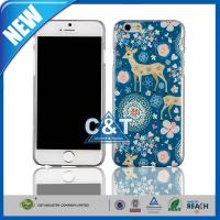 Wholesale Cute Blue Sika Deer Print iPhone 6 Cover Hard Plastic 4.6 inch from china suppliers