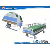 Wholesale GT-BM1102 Five crank  Portable Manual Hospital Bed adjustable for home use from china suppliers