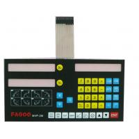 Wholesale Waterproof  Metal Dome Membrane Switch Panel , Embossed Rubbe Keys from china suppliers