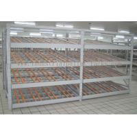 Wholesale Rolling Section Carton Flow Rack 4 Beam Level Light Duty Movable Storage Management from china suppliers