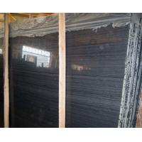 Wholesale Wood Vein Marble Slabs  Black  Wood Marble from china suppliers