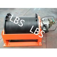 Wholesale 50 Ton Hydraulic Crane Winch With Lebus Grooved Drum For Multilayer Spooling from china suppliers