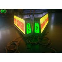 Wholesale P8 Full Color Car LED Sign Display with High Definition , Car Led Sign Screen from china suppliers