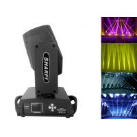 Black Shell 16 Channels Sharpy Moving Head Beam Light With Color Touch Screen
