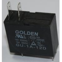 Wholesale Golden Black Two Pin PCB Power Relay GU SMT JQX-62F Micro Relay 12V from china suppliers
