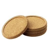 Wholesale Good Quality Customized Blank bulk cork coasters make in China from china suppliers