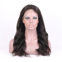 Wholesale Natural Hairline Natural Color Natural Straight Brzilian Human Hair Full Lace wigs from china suppliers