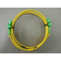 Wholesale 2.0mm PBT SM Duplex Optical Fiber Patch Cord Telecom Grade With SC / APC Connector from china suppliers