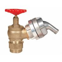 Wholesale Brass 2.5 Fire Hydrant Landing Valve OEM / ODM For Water Applications from china suppliers