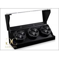 Buy cheap Acrylic Cover Gifts Box 3 Watch Winder / Carbon Fiber Watch Winder For Women from wholesalers