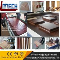 Wholesale PVC wood carved panels vacuum membrane press machine for sale from china suppliers
