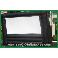 Wholesale Black Oxford Cloth Airblown Inflatable Outdoor Movie Screen For Commercial Advertising from china suppliers
