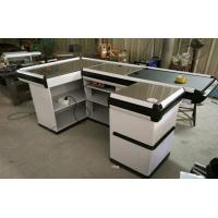 Wholesale Custom Stainless Steel Table Surface Supermarket Electric Cash Counter from china suppliers