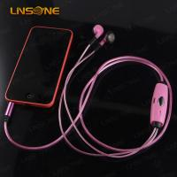 Wholesale Hight qulaity 3.5mm led light waterproof earphone from china suppliers