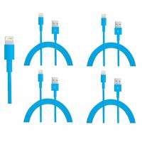 Wholesale colorful USB to 8PIN Charging and Data sync cable cord for 5 5s 5c iPod Touch 5 Blue from china suppliers