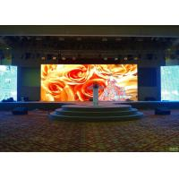 Wholesale P4 SMD LED Stage Screen Rental / Multi Color Video Wall LED Display Indoor , 3 Years Warranty from china suppliers