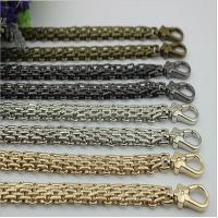 China New product design zinc alloy snap hooks match 120 mm iron material gold chain for bag on sale