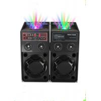 Wholesale 120 Watt Portable Disco Light Bluetooth Speaker Active PA System For Stage Performance from china suppliers