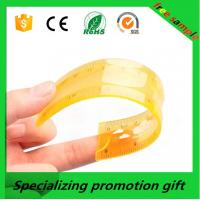 Wholesale Colorful 10/20/30cm straight Flexible soft ruler with logo printed made in China from china suppliers