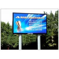 Wholesale Aluminum Alloy / Steel Giant Advertising LED Screen Media Outdoor DIP P10 from china suppliers