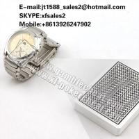 Wholesale XF Watch Hidden Lens work for poker analyzer/gamble predictor cheating in the card games from china suppliers