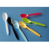 Quality Disposable Colored Plastic Spoons Biodegradable Smooth Surface For Kids for sale