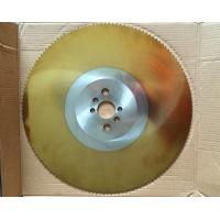 Quality TiN coating HSS circular knife, saw blade for cold cutting of tube and pipe for sale