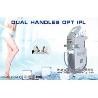 Wholesale Painless OPT IPL Hair Removal Machine / Vertical SHR IPL Beauty Salon Machine from china suppliers