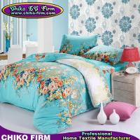 Wholesale Flower Design Pigment Printed Sales Bedding and Linens Cotton Bed Sheets from china suppliers