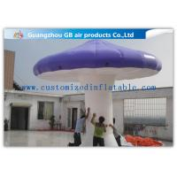 Wholesale Purple Mushroom Shape Inflatable Advertising Signs Outdoor Activities Customized from china suppliers