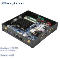 Wholesale Quad Core CPU Mini Fanless PC Computer J1900 INTEL HD Graphics HDMI VGA from china suppliers