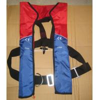 Buy cheap Automatic inflatable marine life jacket With EC Certification from wholesalers