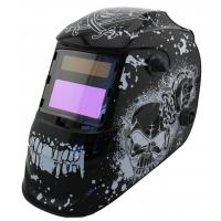Wholesale Safety Solar Powered Auto Darkening Welding Helmet Large View For Metal Man / Huntsman from china suppliers