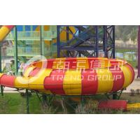 Wholesale Outdoor Fiberglass Water Slide Games for One Person Per Time , Adult Used in Giant Water Park from china suppliers