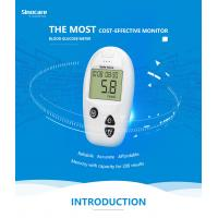 Wholesale Domestic Diabetes Blood Monitoring Devices No Coding With Accuracy Result from china suppliers