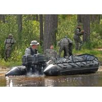 Wholesale Heavy Duty Military Inflatable Boats 5 Person Aluminum Floor Inflatable Boat from china suppliers