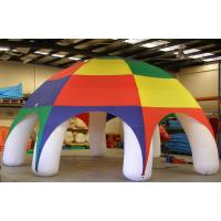 Large Outdoor Inflatable Lawn Tent Attractive Fireproof For Family