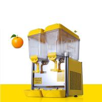 Quality Hot Sale Cold and Hot Beverage Orange Fruit Juice Dispenser, orange juice dispenser , hot beverage dispenser for sale
