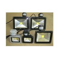 Wholesale AC 230V PIR LED Flood Light Waterproof Outdoor Silver Or Black Housing Color from china suppliers