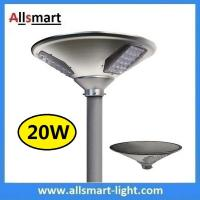 Wholesale New 20W 2000lm UFO Solar Garden Lights All In One Parking Lot Lamp Solar Energy Products With 40W Solar Panel Aluminum from china suppliers