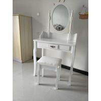 Wholesale Wholesale white small wooden dressing table with drawer from china suppliers