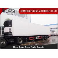 Wholesale 45 Ft / 40 Ft Refrigerated Cargo Trailer For Food Storage Max Payload 30 Ton from china suppliers