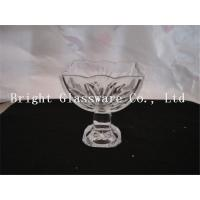 Wholesale new design ice cream glass cup, glass ice cream bowl from china suppliers