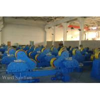 Wholesale Blue PU Self Aligning Welding Turning Rolls 150 ton For Heat Exchanger Welding from china suppliers