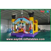 Wholesale Micky Mouse Inflatable Jumping Castle Popular Happy Hop Bouncy Castle from china suppliers