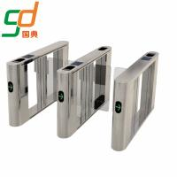 Buy cheap High Intelligent Automatic Swing Barrier Gate Bi-Directional Pedestrian Turnstile from wholesalers