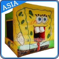 Wholesale Lovely Inflatable Sponge Bob Cartoon Bouncy Castle For Party Hire Games from china suppliers